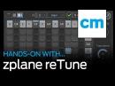 Zplane reTune Hands on with Computer Music magazine