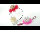 D.I.Y Mini Crown Headband For Baby &amp Kids  by Elysia Handmade