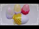 Jajko wielkanocne ze wstążki i cekinów 🐣 jak wykonać 🐣 krok po kroku 🐣 26