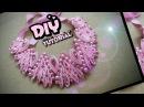 DIY Kanzashi Necklace 01 / Ожерелье канзаси 01