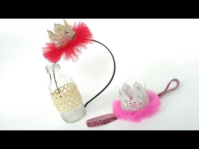 D.I.Y Mini Crown Headband For Baby Kids | by Elysia Handmade