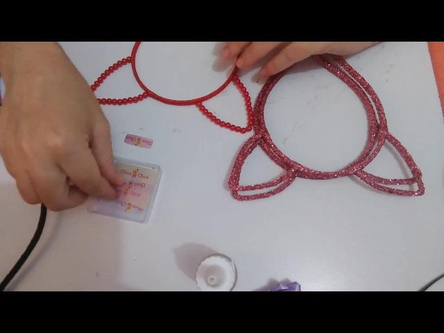 Como colocar sua etiqueta no arco ou tiara de 3mm