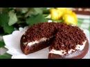 Шоколадно-кофейный торт. Очень простой рецепт