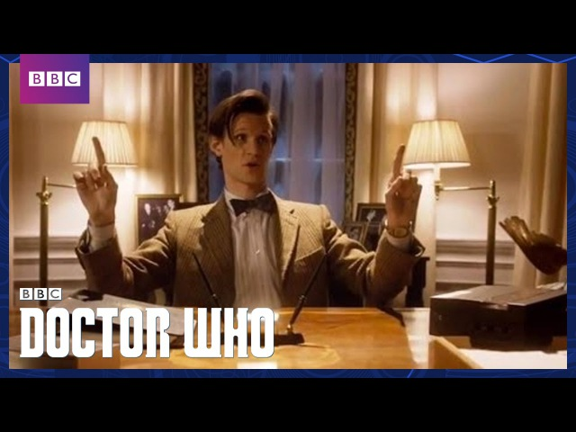 The Doctor In The White House | The Impossible Astronaut | Doctor Who | BBC