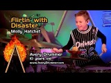 Flirtin with Disaster - Drum Cover - 10 year old Drummer - Avery Drummer Molek