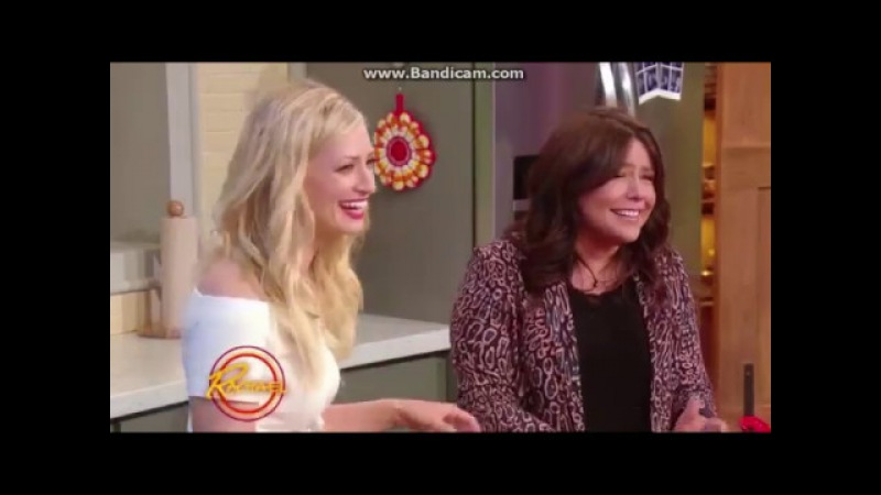 Beth Behrs on Rachael Ray Show 5/8/2017