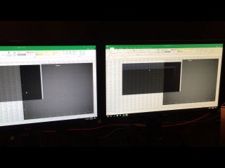 AMD Ryzen 7 1700 vs Intel i7-7700K in Excel