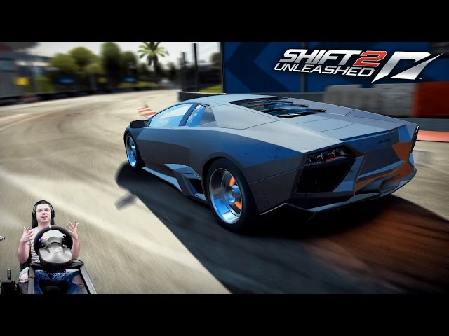 Тур скорости Майами на Lamborghini Reventón Need For Speed Shift 2 Unleashed
