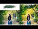 My Workflow in Photoshop, Editing Fall Portrait Expansion