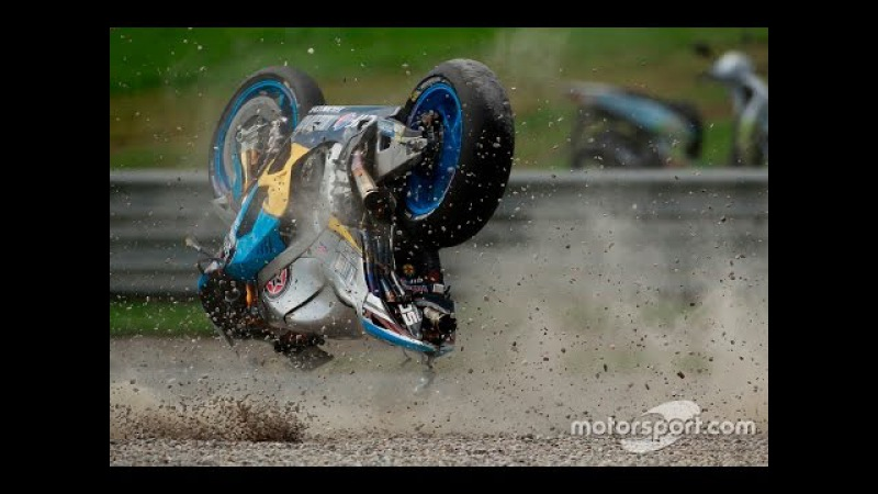 MOTOGP 2016 Austrian GP All Crashes Compilation 10