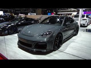 Porsche Panamera Techart Geneva Motorshow