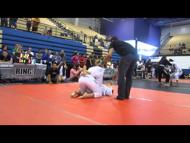 Miss United States Whitney Miller (Rudy Vasquez) vs. Terry Reeve (Victoria BJJ) - 2013 Austin Open