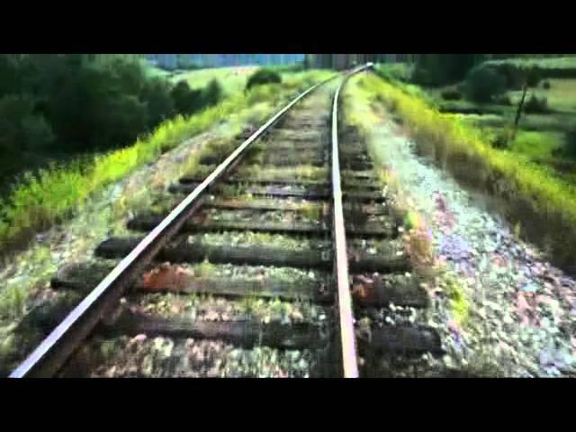 High-speed rail biking on Torzhok-Soblago railroad
