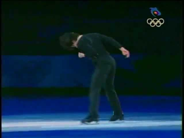 Stéphane Lambiel - 2010 Olympics Gala - Ne Me Quitte Pas (CTV)