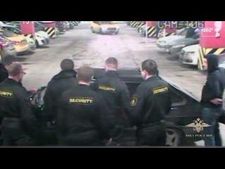 Грабители на машине с мигалкой после драки едва не переехали охрану московского...