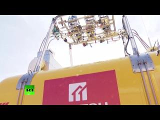 Федор Конюхов показал воздушный шар, на котором совершит полет вокруг света