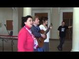 Реставрационный романс, знаменитая песня про трусы :) Лена Лещенко, Юлия Болотина, Алёна Русанова.