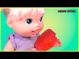 Видео с игрушками для детей Куклы Пупсики Бэби Элайв Лиза делает мыло Дочки Матери игры для девочек