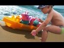 ★ СВИНКА ПЕППА корабль Играем с Пеппой и друзьями на море Peppa Pig Sun Sea and Snow