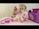 ✿ Доктор Плюшева Дисней играем набором делаем уколы Ленни лечим овечку Doc McStuffins playing toys