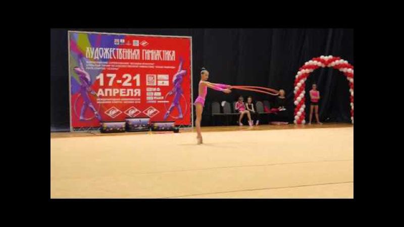 РФСО СПАРТАК/КМС/Анна Полянина Красноярск