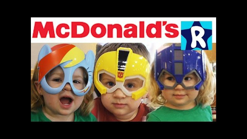 ★ My Little Pony Игрушки Хеппи Мил МакДональдс Трансформеры Май Литл Пони McDonalds Happy Meal Toys