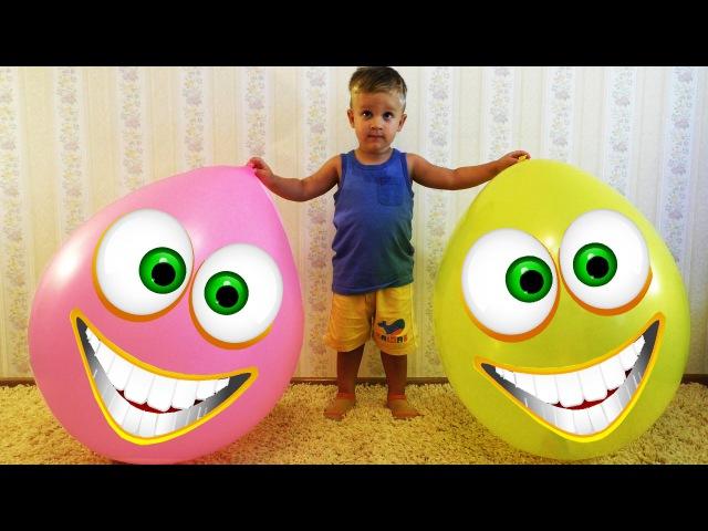 ★ Огромные Шарики с Сюрпризами Лалалупси Смурфики Пони Киндер Сюрприз Giant Balloons Surprise