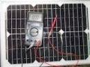 Тест 20-ти ваттной солнечной панели Luxeon PT-020