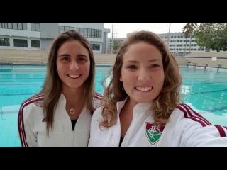 FluTV - Musas tricolores do nado sincronizado mandam recado para a torcida