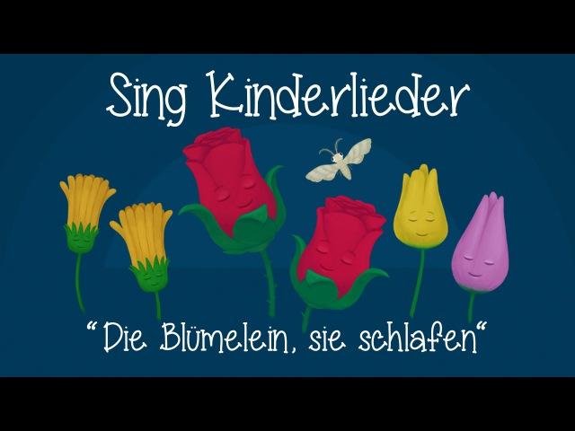 Die Blümelein, sie schlafen - Schlaflieder zum Mitsingen | Sing Kinderlieder