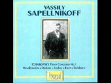 Vassily Sapelnikoff plays Tchaikovsky Concerto No. 1 in B flat minor Op. 23 (1/4)