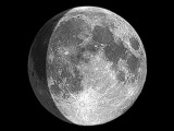 The Moon Live Stream w Marc D'Antonio 010817 (Waxing 83.7 Illuminated)