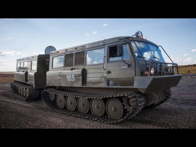ТТМ-4902PS-10 tracked articulated all-terrain carrier