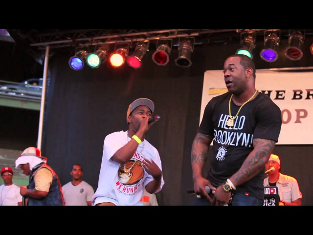 Busta Rhymes x ATCQ x LONS || Scenario || 2012 Brooklyn Hip Hop Festival [OFFICIAL VIDEO]