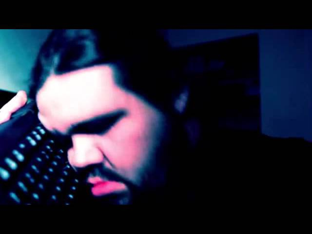 Fat man hacks 8ch with euphoric music