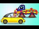 Vidéo pour enfants de Maria et Poma Voiture coincée dans la neige