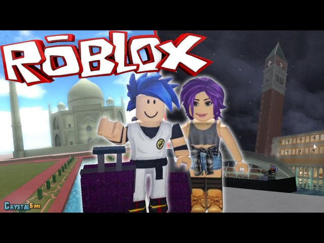 VIAJAMOS A ITALIA WORLD EXPEDITION ROBLOX CRYSTALSIMS