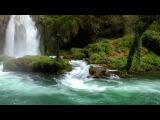 Звуки Лесного водопада. Музыка релакс .Музыка для сна.Белый шум HD 1080P