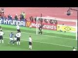 Знаменитый гол Роналдиньо в ворота Англии.