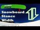 How to find YOUR snowboard stance width