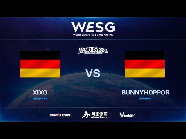 [RU] BunnyHoppor vs Xixo, 3rd place decider match, 2016 WESG HS Grand Final presented by Alipay