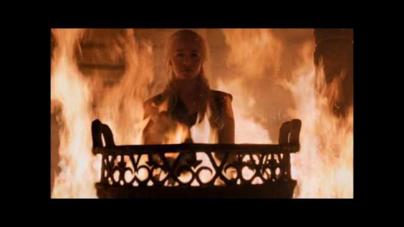Игра престолов Дейенерис сжигает кхалов в храме Дош Кхалин