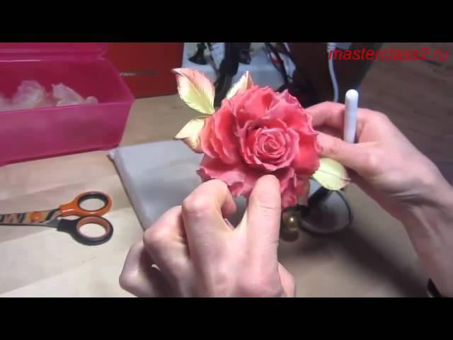 Master class Silk Rose - Somebana Japanese technique