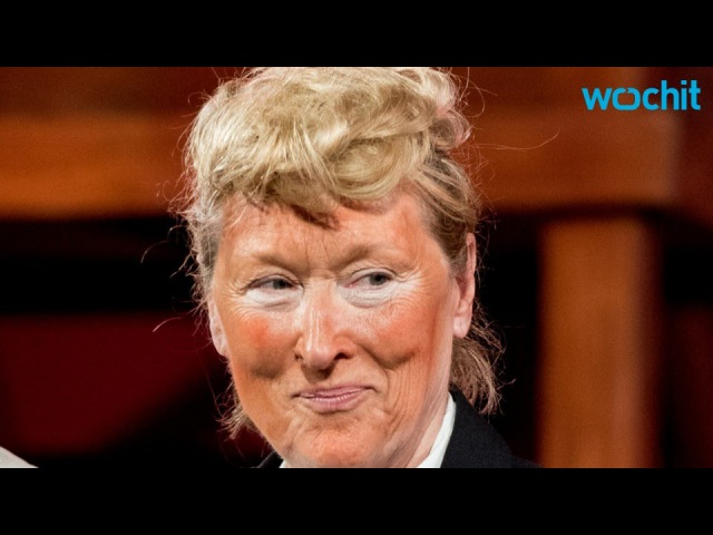 Meryl Streep Played Donald Trump Onstage And It Was A Must See