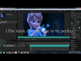 Watch Me Working _ Changing Hair Colour After Effects