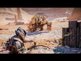 MASS EFFECT™: ANDROMEDA | Боевая система | Официальный трейлер игрового процесса — часть 1