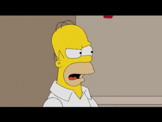 The Simpsons. Homer Votes 2016