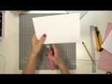 Как сделать скетчбук своими руками __ Скетчбук за 10 минут