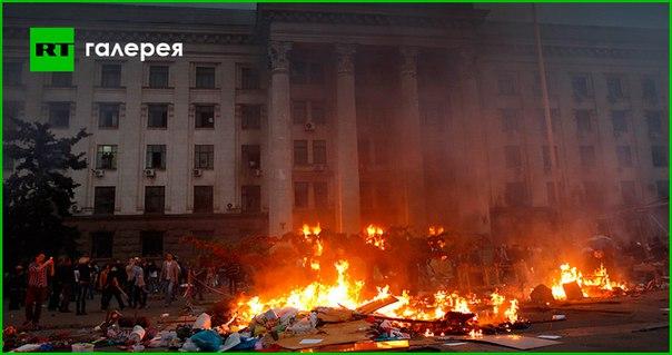 Три года трагедии в Одессе  ➡ Смотреть галерею: https://russian.rt.com/ussr/foto/385117-godovschina-odessa-dom-profsoyuzov