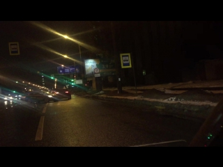 ДТП на полосе встречного движения на Политехнической улице в Петербурге